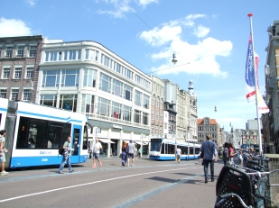 07 Amsterdam W1 Approaching Koningsplein