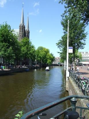 13 Amsterdam W1 Canal & Sky