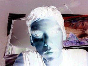 Weird Self Portrait - by R.R.
