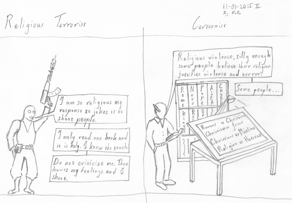 Cartoon for Charlie