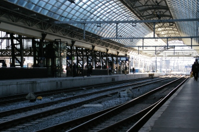 14. Amsterdam Central Track 10-11