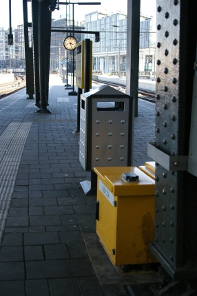 46. Amsterdam Central Track 10-11