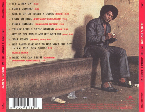 Album Tracklist - In The Jungle Groove by James Brown & The JB's