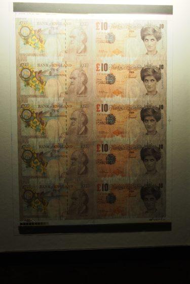 Money as a canvas...