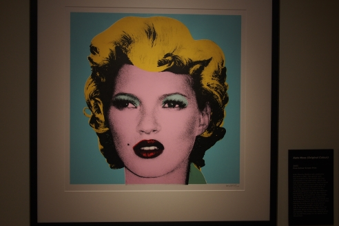 Andy Warhol portrayed Marilyn Monroe. Banksy portrayed Kate Moss...