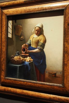 Vermeer could make the ordinary look special...