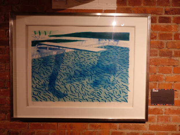 David Hockney's swimming pool...