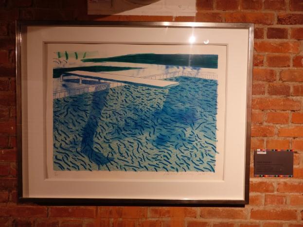 David Hockney's swimming pool...