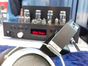 Stax SR009 + Mal Valve Amplifier