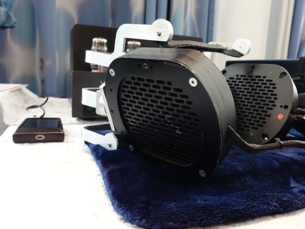 Prototype Headphone + Mal Valve Amplifier