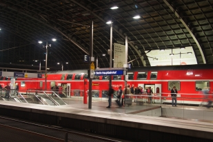 Even the train looks small...