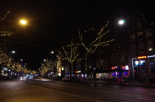 Dark nights, more lights.